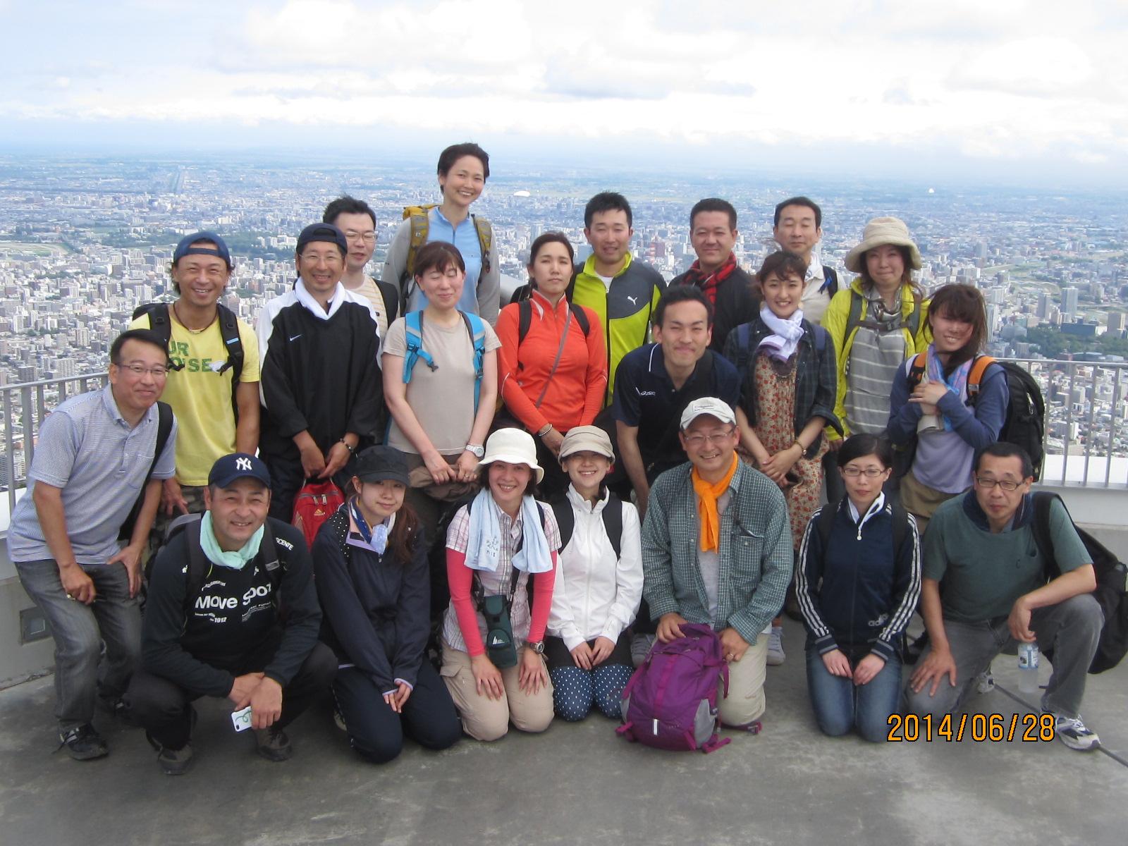 【ご報告】オープン例会『留智亜と登る藻岩山』